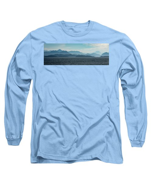 Coastal Mountains Long Sleeve T-Shirt