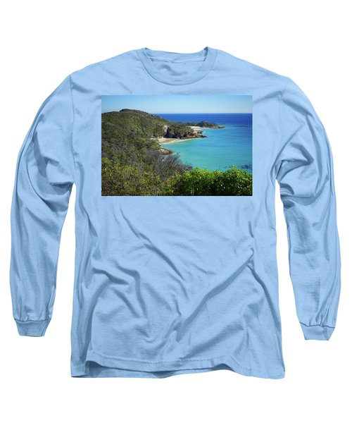 Coastline Views On Moreton Island Long Sleeve T-Shirt