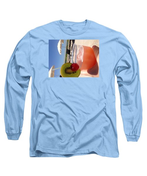 Cocktail Long Sleeve T-Shirt by Brooke Hooker
