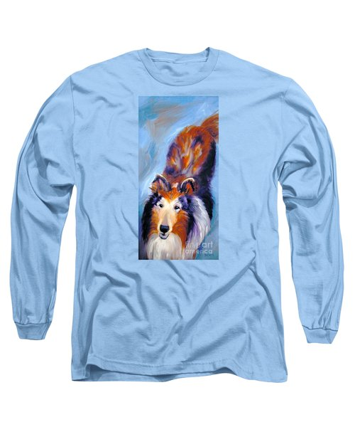 Collie Sable Rough 1 Long Sleeve T-Shirt
