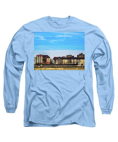Cologne City Long Sleeve T-Shirt by Cesar Vieira