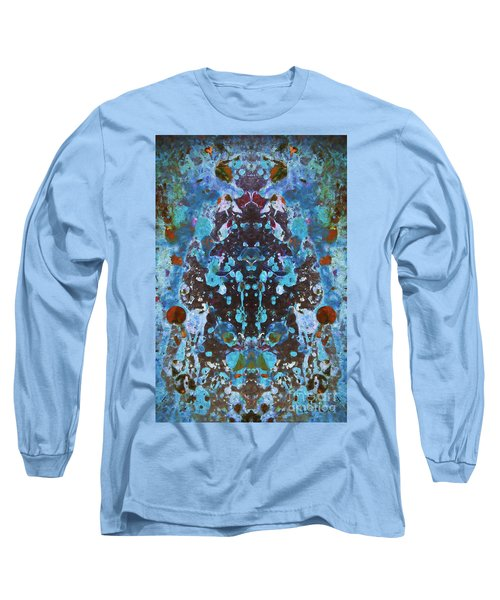 Color Abstraction Iv Long Sleeve T-Shirt by David Gordon