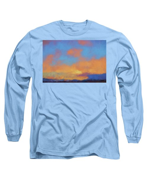 Color Abstraction Lvii Long Sleeve T-Shirt by David Gordon