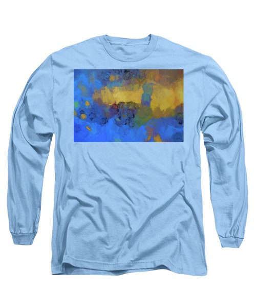 Color Abstraction Lviii Long Sleeve T-Shirt