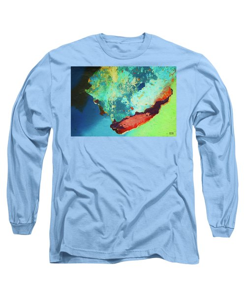 Long Sleeve T-Shirt featuring the photograph Color Abstraction Lxxvi by David Gordon