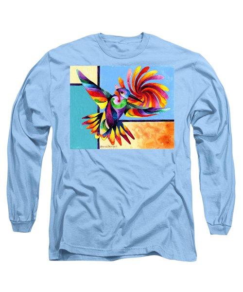 Color Spinner Long Sleeve T-Shirt