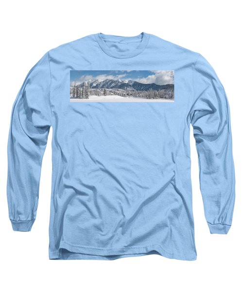 Long Sleeve T-Shirt featuring the photograph Colorad Winter Wonderland by Darren White