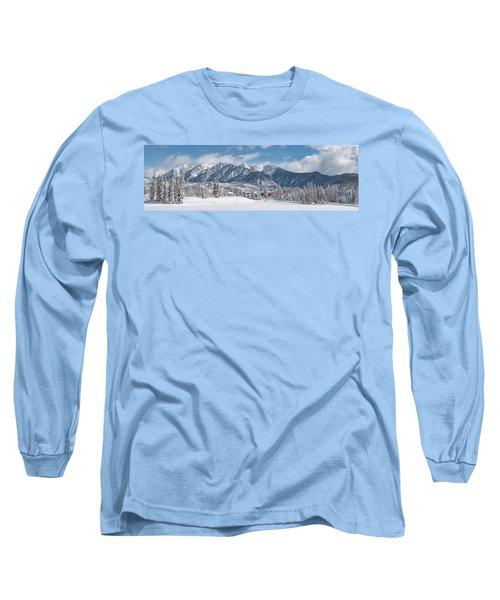Colorad Winter Wonderland Long Sleeve T-Shirt
