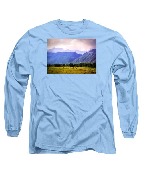 Colorado Harvest Watercolor  Long Sleeve T-Shirt