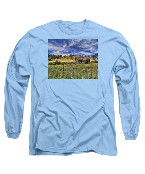 Colorado Homestead Long Sleeve T-Shirt by John Bushnell