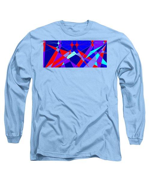 Colorful 1 Long Sleeve T-Shirt by Linda Velasquez