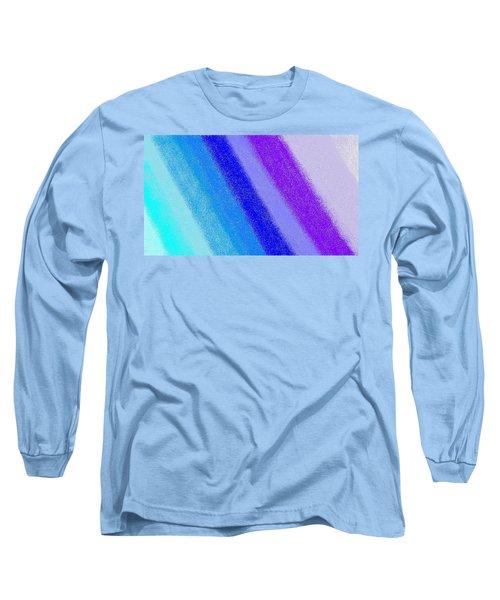 Colorful 3 Long Sleeve T-Shirt by Linda Velasquez