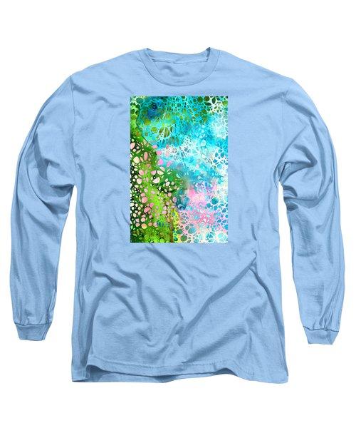 Colorful Art - Enchanting Spring - Sharon Cummings Long Sleeve T-Shirt by Sharon Cummings