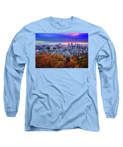 Long Sleeve T-Shirt featuring the photograph Colorful Montreal  by Mircea Costina Photography