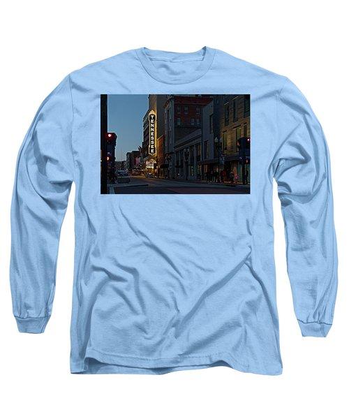 Colorful Night On Gay Street Long Sleeve T-Shirt