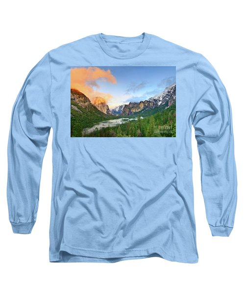 Colors Of Yosemite Long Sleeve T-Shirt