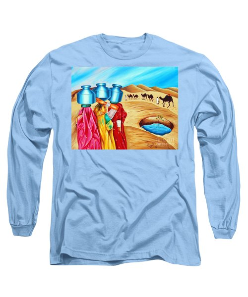 Colour Of Oasis Long Sleeve T-Shirt