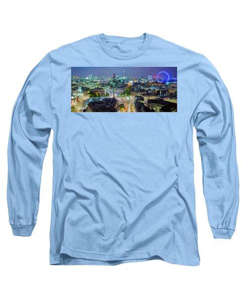 Colourful London Long Sleeve T-Shirt
