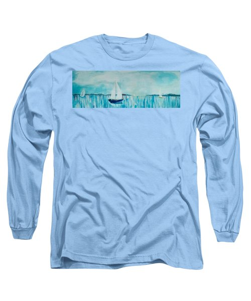 Come Sail Away Long Sleeve T-Shirt by Gary Smith