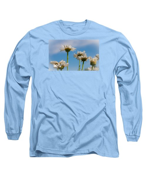 Long Sleeve T-Shirt featuring the photograph Coming Up Daisies by Christina Lihani