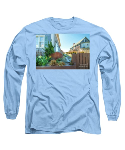 Commercial St. #4 Long Sleeve T-Shirt