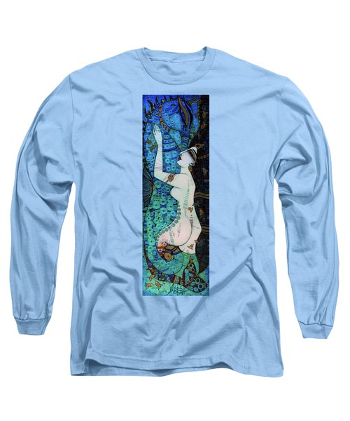 Confessions In Blue Long Sleeve T-Shirt