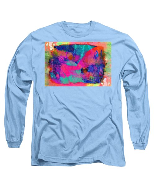 Connivance,just Another Texture Long Sleeve T-Shirt