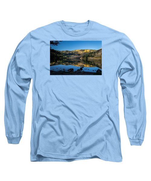 Contract Lake Fall Morning Long Sleeve T-Shirt by Michael J Bauer