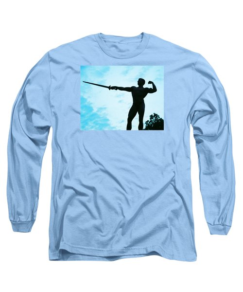 Contrast Long Sleeve T-Shirt by Jake Hartz