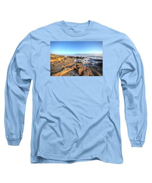 Coquina Carvings Long Sleeve T-Shirt by Robert Och