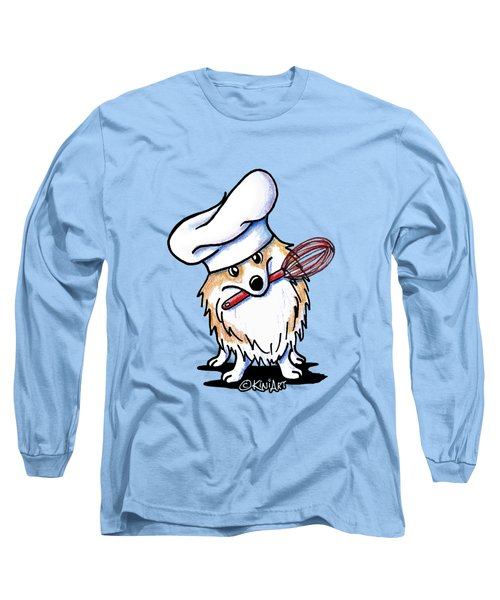 Corgi Chef Long Sleeve T-Shirt