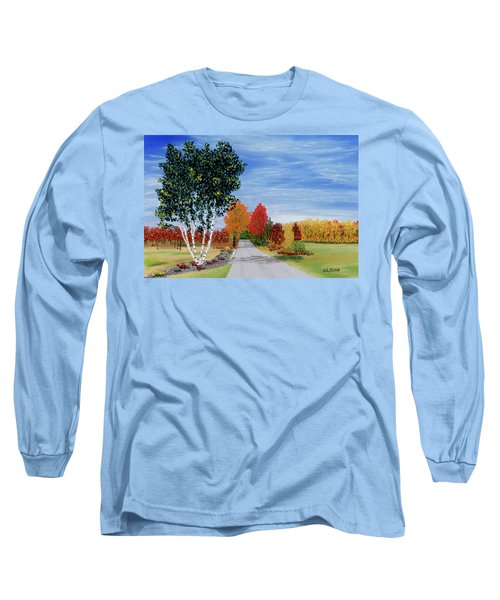 Cottage Row Long Sleeve T-Shirt