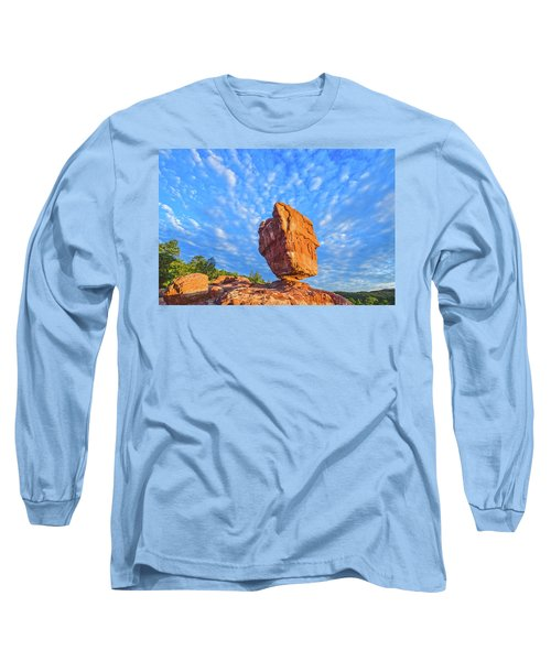 Counterpoise  Long Sleeve T-Shirt by Bijan Pirnia