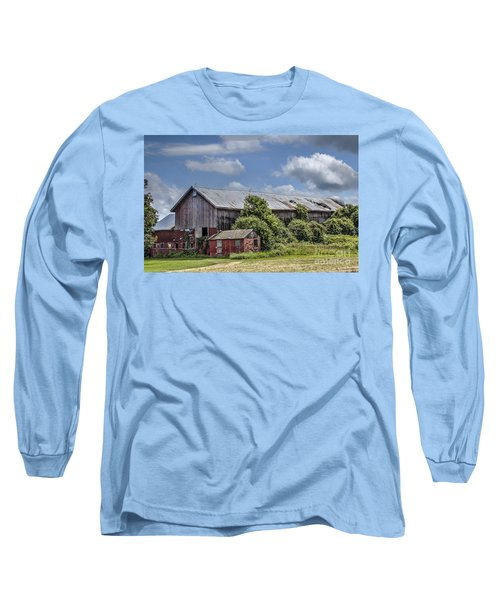Country Barn Long Sleeve T-Shirt