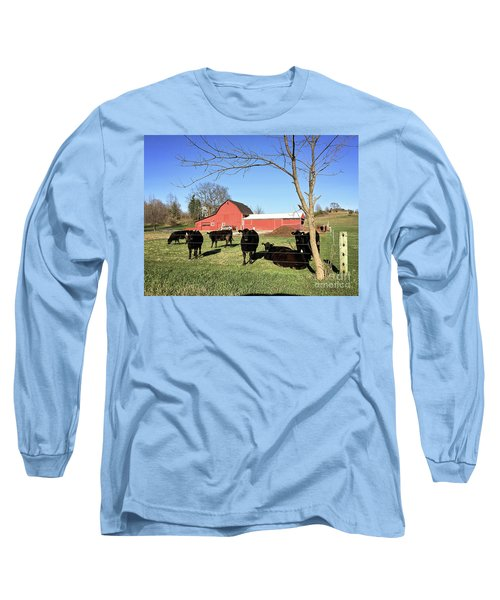 Country Cows Long Sleeve T-Shirt