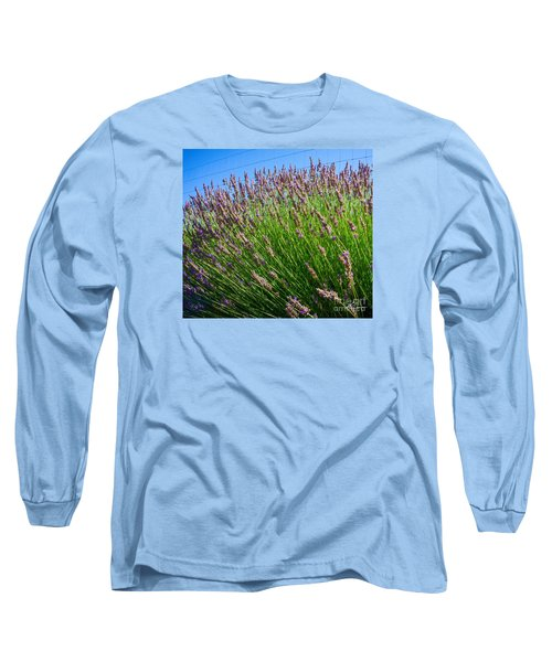 Country Lavender I  Long Sleeve T-Shirt