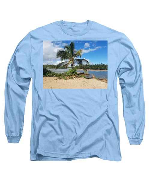 Covered Palm Beach Long Sleeve T-Shirt