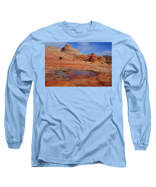 Coyote Butte Reflection Long Sleeve T-Shirt