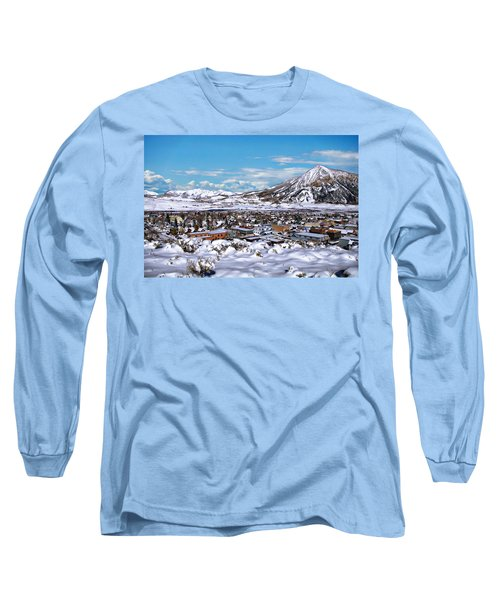 Crested Butte Panorama Long Sleeve T-Shirt