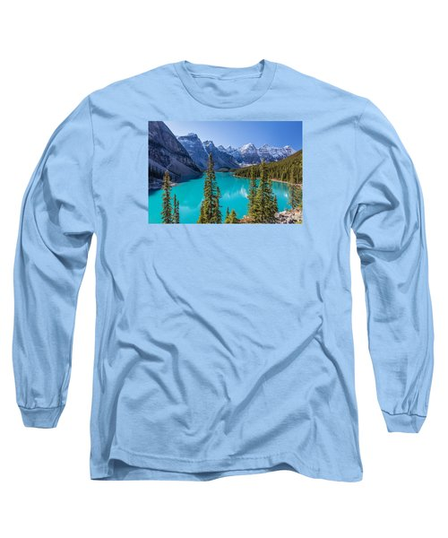 Crown Jewel Of The Canadian Rockies Long Sleeve T-Shirt