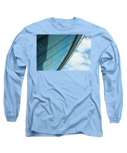 Cruise Ship Abstract Serenade Windows 1 Long Sleeve T-Shirt