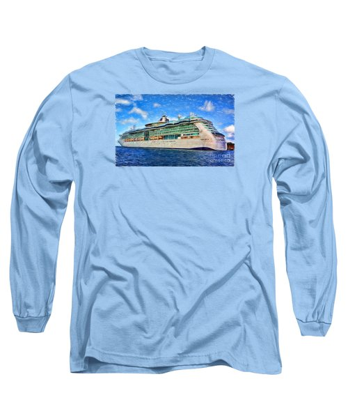 Long Sleeve T-Shirt featuring the photograph Cruising Thru Life by Sue Melvin