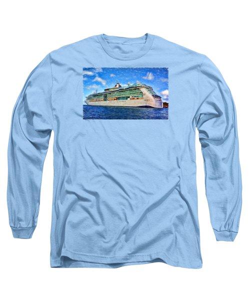 Cruising Thru Life Long Sleeve T-Shirt by Sue Melvin