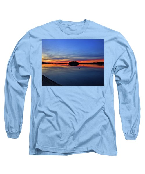 Crystal Blue Persuasion  Long Sleeve T-Shirt