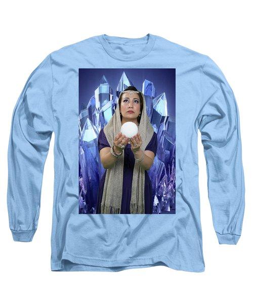 Crystal Goddess Long Sleeve T-Shirt