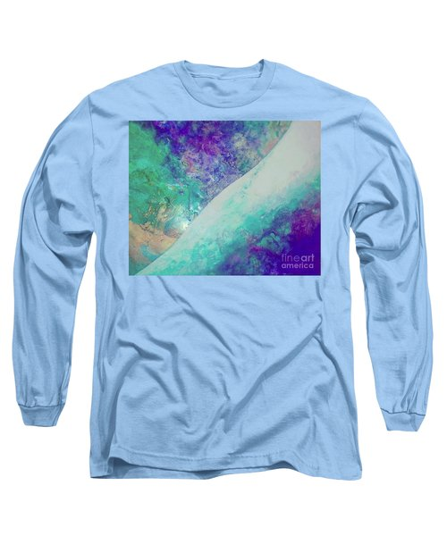 Crystal Wave10 Long Sleeve T-Shirt