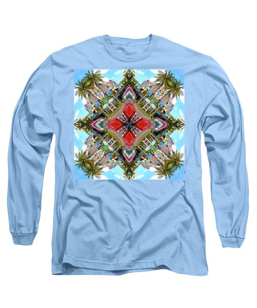 Cuban Kaleidoscope Long Sleeve T-Shirt
