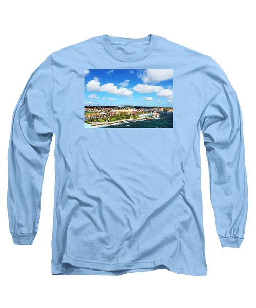 Curazao Long Sleeve T-Shirt by Infinite Pixels