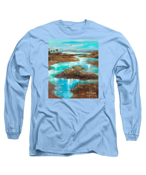 A Few Palms Long Sleeve T-Shirt by Linda Olsen