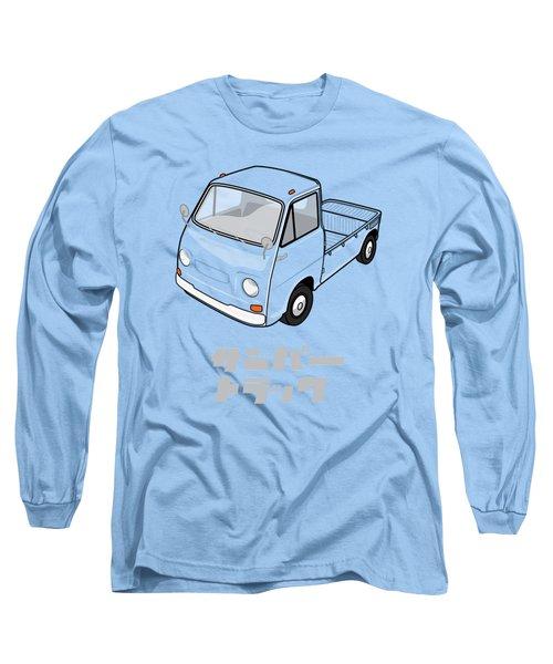 Custom Color Subaru Sambar Truck Long Sleeve T-Shirt